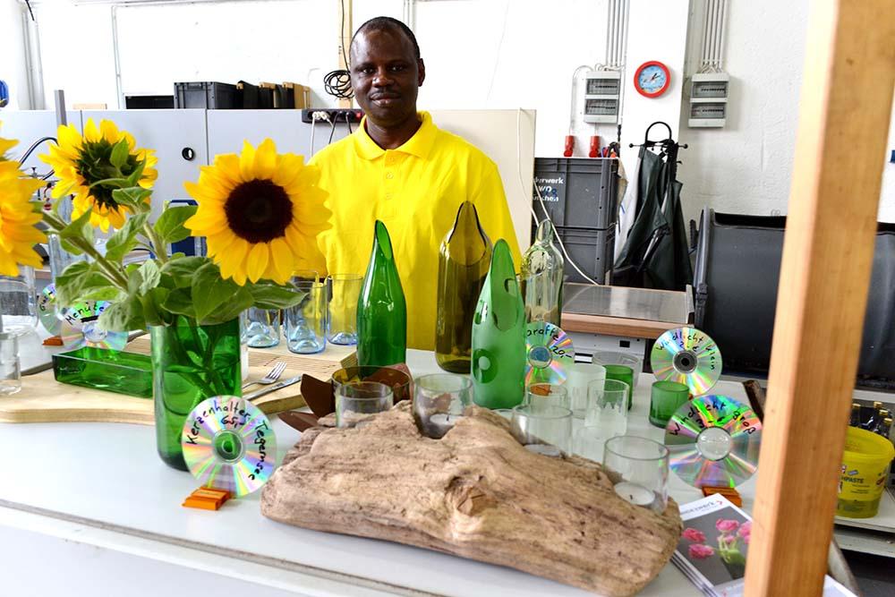 Anderwerk Sommerfest Glaswerkstatt anderwerk