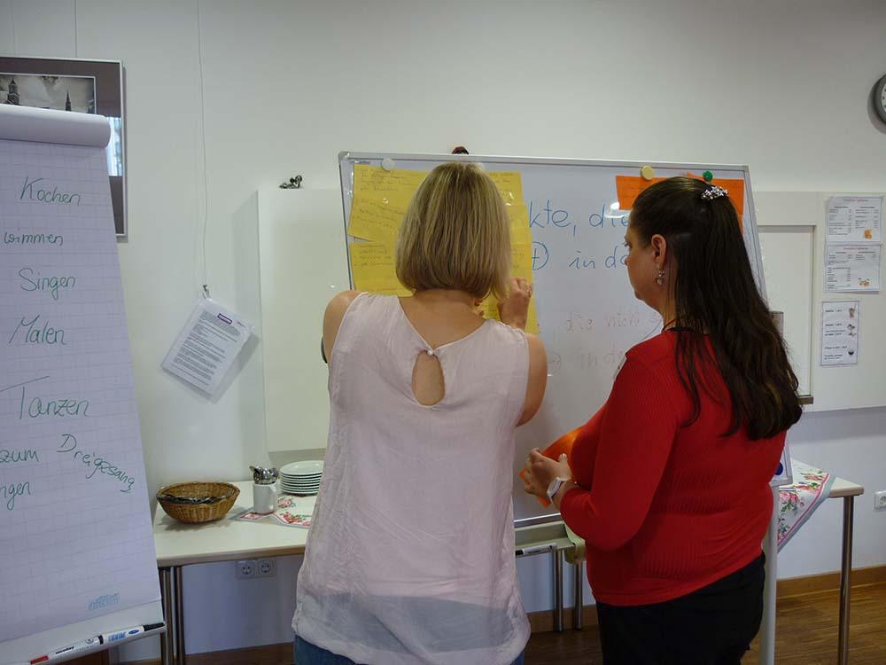 Hilfe zur Arbeit workshop