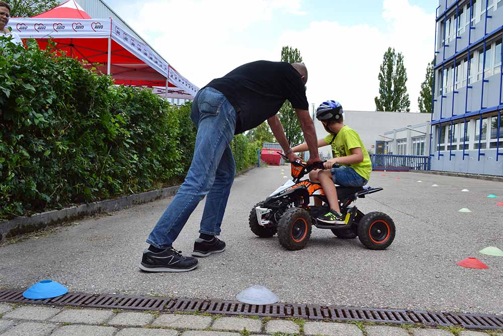 Kinderquad Anderwerk Sommerfest Kinderquad