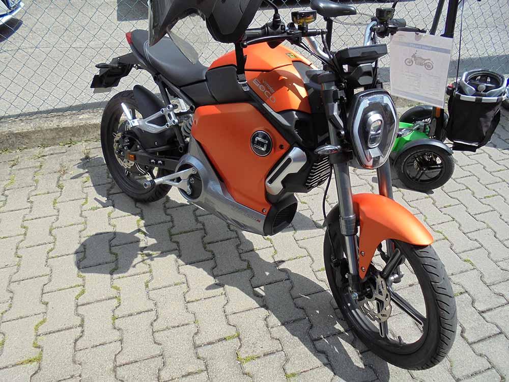 anderwerk Sommerfest Elektromotorrad