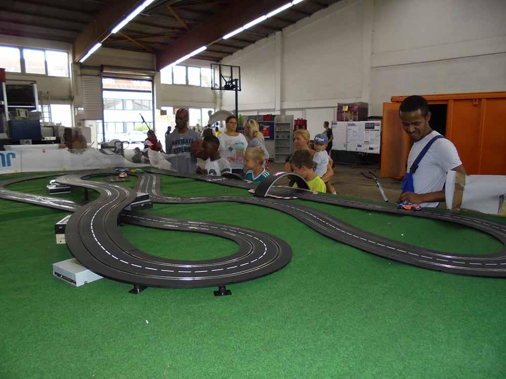 anderwerk Sommerfest Carrera Bahn