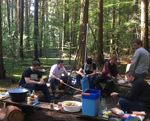 UTURN Erlebnispaedagogik Wald